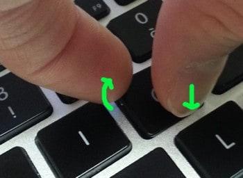 Enlever une touche de clavier portable