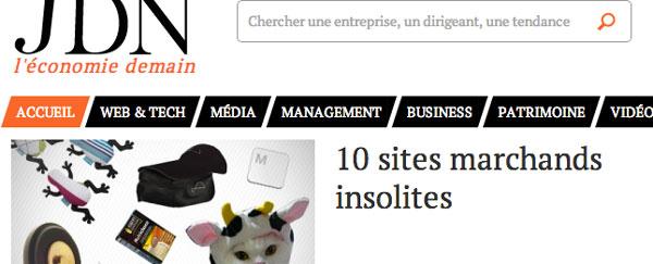 ToucheDeClavier.com fait parler de lui sur le Journal Du Net !